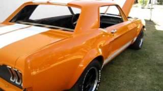 Ford mustang 1967 de carreras JPV.
