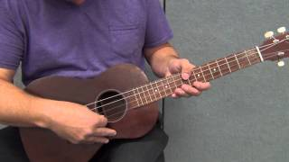 How to Tune a Baritone Ukulele in Standard Tuning