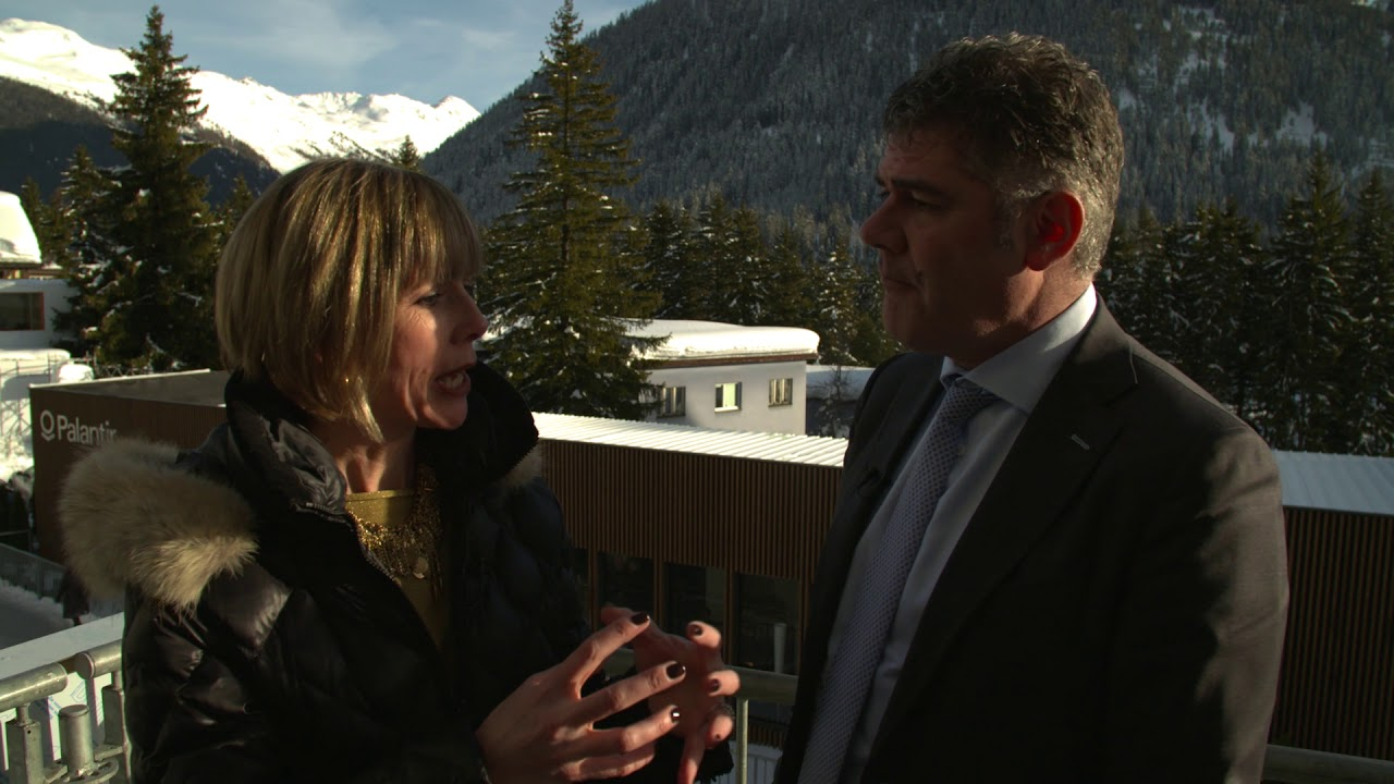 Hub Culture Davos 2018 - Frank Kuijpers, General Manager of Corporate Sustainability of SABIC Europe