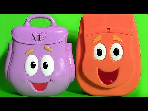 Dora Explorer Backpack Surprise Talking Diego Rescue Backpack Surprise Eggs Go,Diego,Go