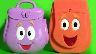 Dora Explorer Backpack Surprise with Talking Diego Backpack Surprise