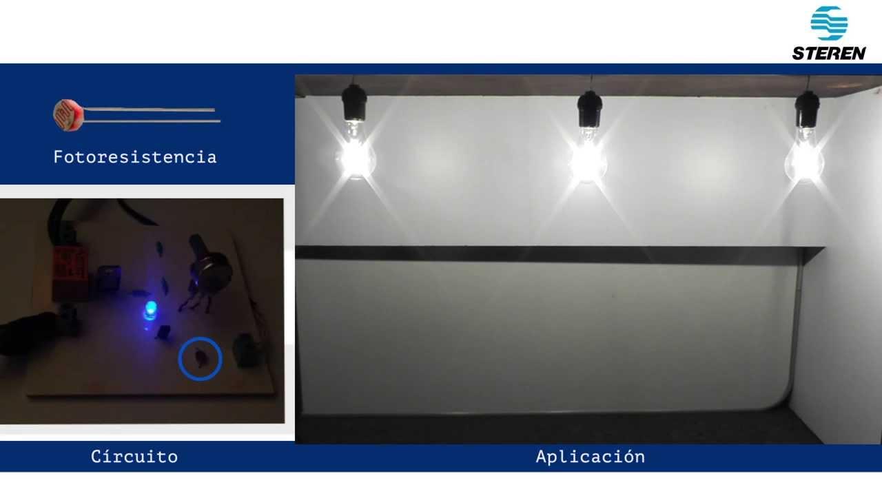 proyecto - 35 sensor de luz para alumbrado automático nocturno