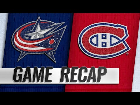 Canadiens top Blue Jackets on Tatar's goal