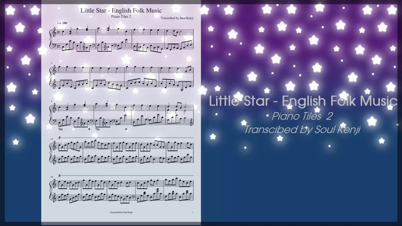 Little star english folk music piano tiles 2 sheet music little star english folk music piano tiles 2 sheet music hexwebz Choice Image