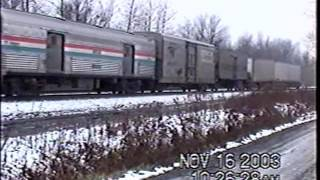 Amtrak in Upstate NY 2003 - Part 1