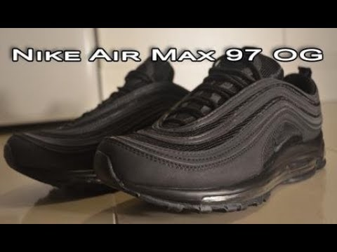 Nike Air Max 97 OG QS Black $45 from DHGate Review & On Foot