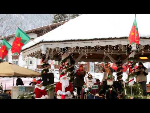 Trip to Leavenworth, WA  on Christmas 2010