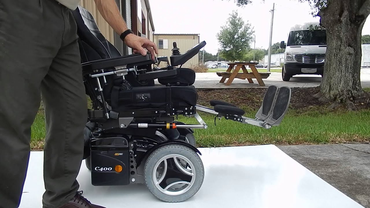 permobil c400 power chair with tilt, recline, legs \u0026 seat lift used wheelchairs (black) Car Wiring Diagrams