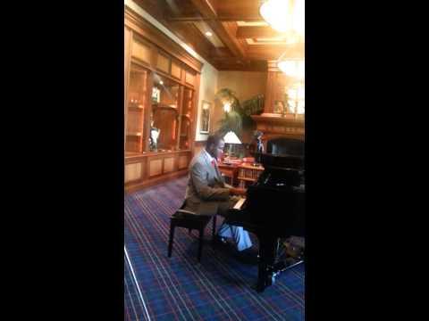 Piano Playing At Eagle Creek In Naples, Florida
