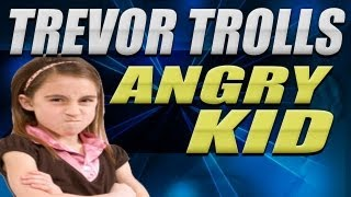 Trevor Trolls ANGRY KID - Call Of Duty Griefing