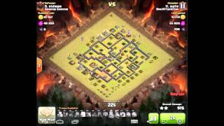 Clash of clans OneAttackClan alliance 45v45 war recap part 1