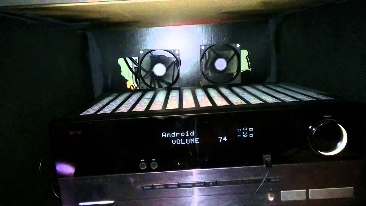 Audio Cabinet Fans - YouTube