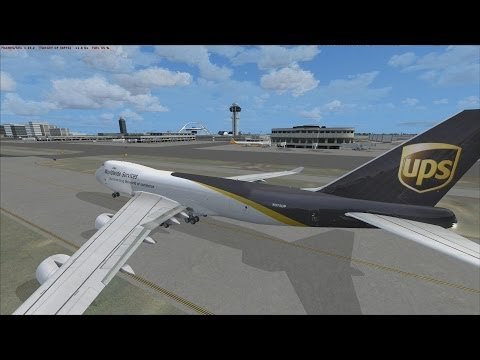 FSX | Let's Play Air Hauler Episode #82 - Off to Midland | 747-400