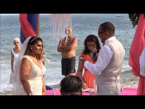 Charlene & Chito Say I do!  Wedding Ceremony in Panama - 2016