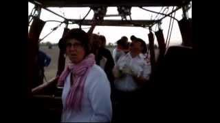 Hot airballoon crash in Luxor, Egypt on 2011-10-19