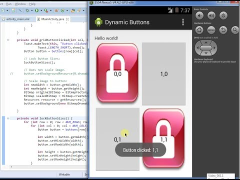 Dynamic Buttons with Images: Android Programming