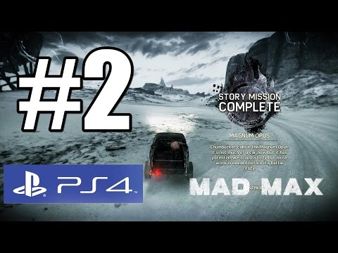 Mad Max Story Mision Magnum Opus Walkthrough Part 2 PS4 Full HD