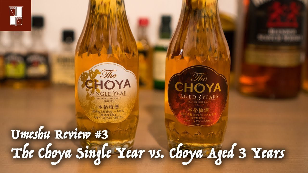 year umeshu single choya