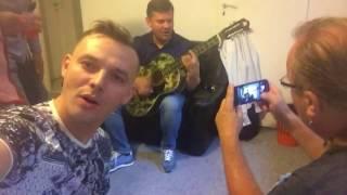 Zenek Martyniuk śpiewa w garderobie ||Trasa koncertowa - Zenek / Mr Sebii / Casanova