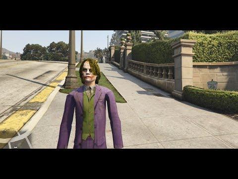 GTA 5 - Cuộc đời của Joker trong phim Batman | GHTG