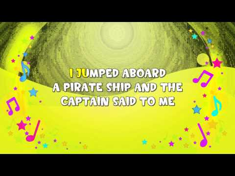The Pirate Song Karaoke