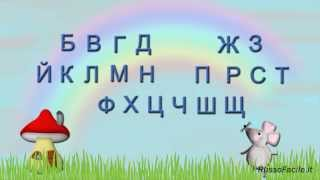 Alfabeto russo.  Lingua russa per italiani.  Lezione № 1