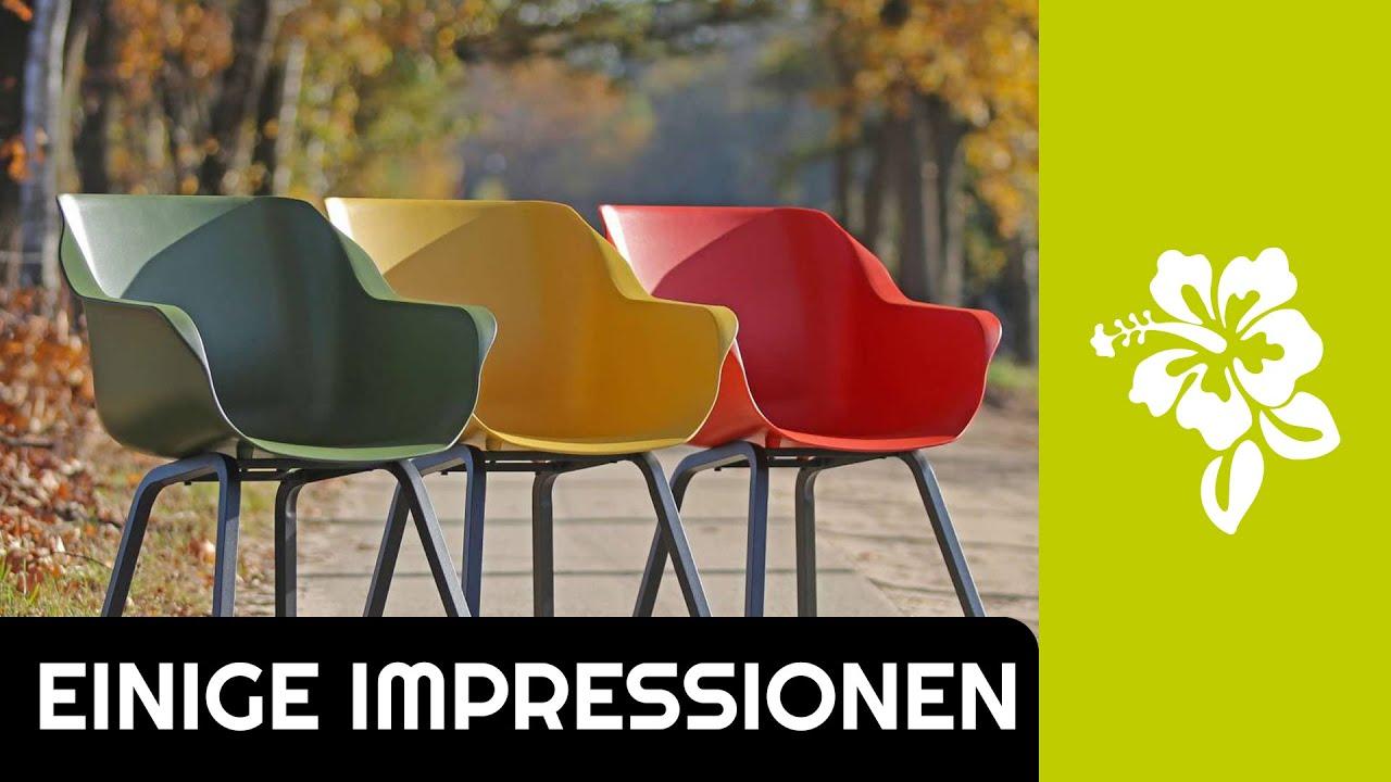 Einige Impressionen Neue Farben Des Hartman Sophie Element Essstuhls Kees Smit Gartenmobel