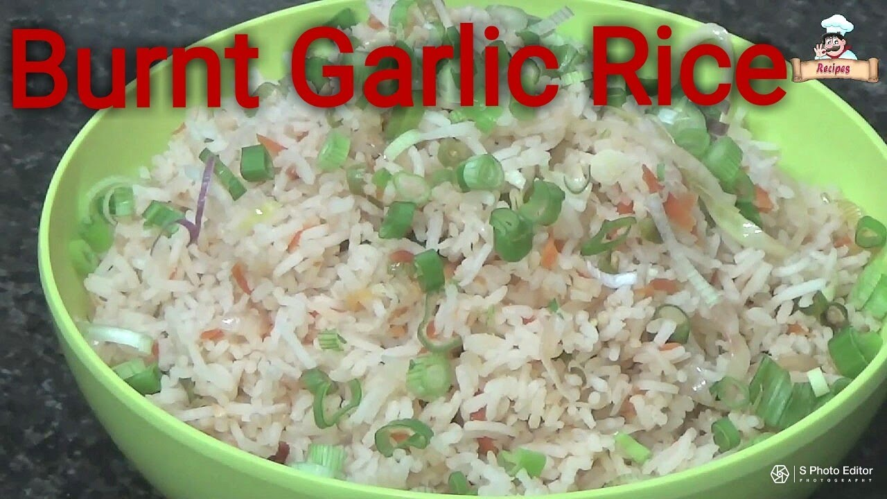 how to make burnt garlic
