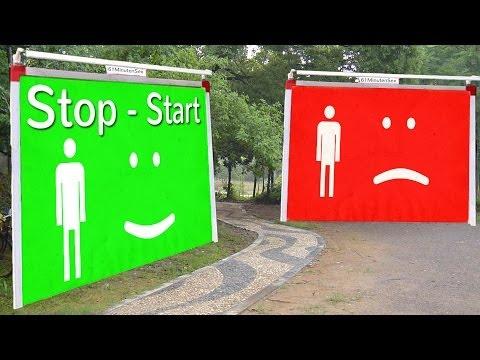 Später kommen - Technik lernen - Stop Start