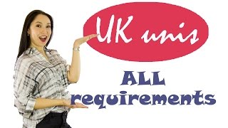 How to apply to a UK university: all entry requirements you must know about thumbnail