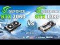 RTX 2060 OC vs GTX 1080 Test in 8 Games 1440p