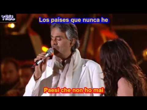 Time To Say Goodbye ( SUBTITULADO EN ESPAÑOL LYRICS ) Bocelli - Brightman