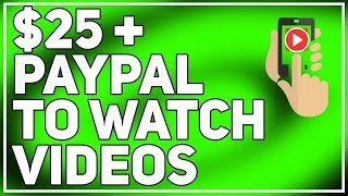 PayPal Money Just By Watching Videos  (Automated)