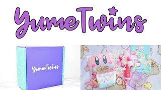 MỞ HỘP YUME TWINS THÁNG 7/2019- YumeTwins Box JULY 2019 (SUPER CUTE)!!!
