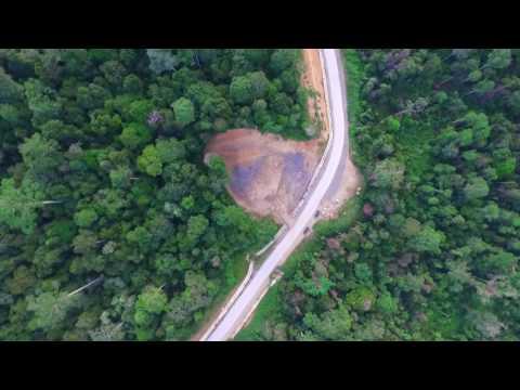 Drone flight, Maliau Basin, Sabah, Borneo