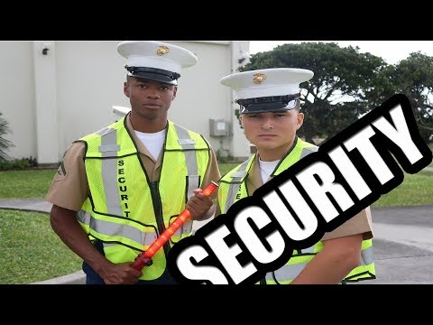 U.S Marine Security!