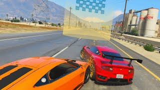 SUPER CLOSE FINISH! (GTA 5 Funny Moments)