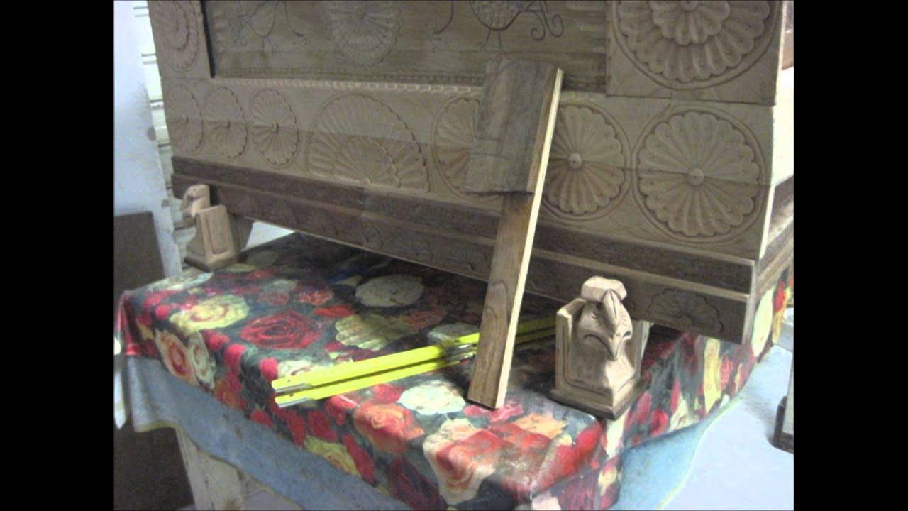 Come Costruire Una Cassapanca Sarda.Cassapanca Modello Sardo Youtube