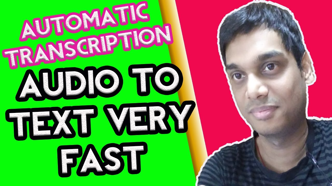 Transcription Best Free Way To Automatically Transcribe Video Audio To Text | mp3speedy.net
