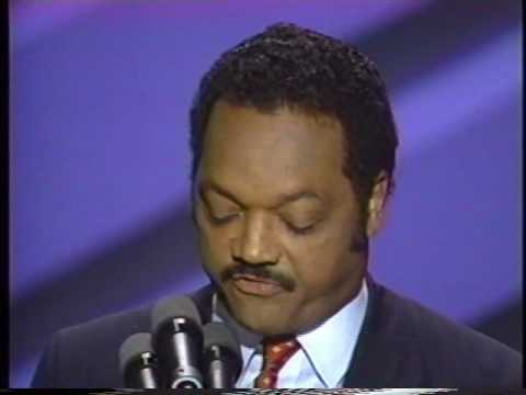 Jesse Jackson Speech to 1988 Convention Pt. 2