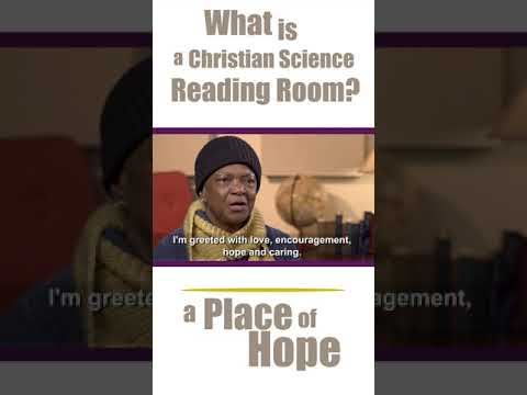 What Is A Christian Science Reading Room A Place Of Hope Youtube