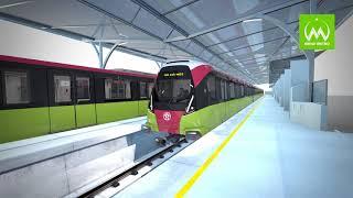 Thiết Kế Tàu 3D Tuyến 3, Đoạn Nhổn - Ga Hà Nội