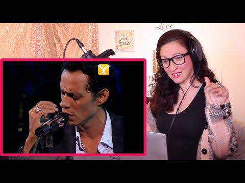 Vocal Coach Reacts – Marc Anthony- Hasta Que Te Conocí
