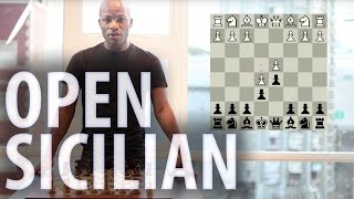 chess openings sicilian defence open sicilian