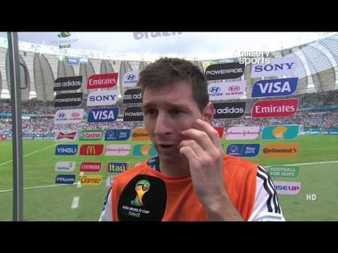 DIRECTV Sports™ - Argentina: notas post partido de Messi y Sabella