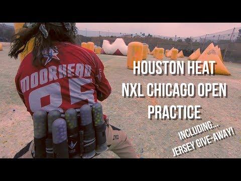 Houston Heat Travel & Team Practice VLOG for the NXL Chicago Open | Dizon Docs #20