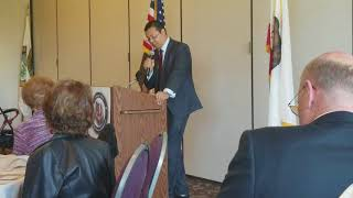 Jack Guerrero CPA for California Treasurer -- speech to local Republicans on April 20, 2018