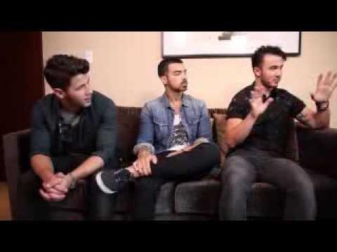 jonas brothers MSN interview August 2013
