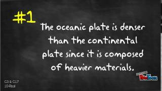 Oceanic vs. Continental