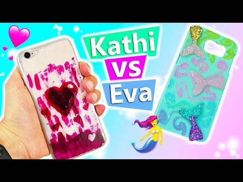 DIY HANDYHÜLLE Selber Machen Deutsch | Neue Phone Cases Design Ideas DIY Inspiration Challenge #166